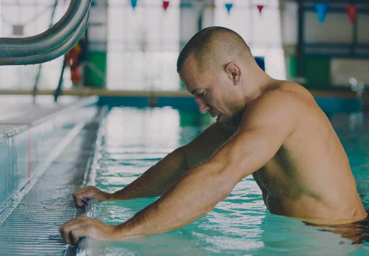 do athletes train in water